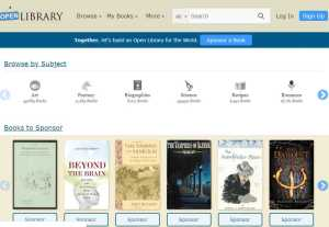 open library website