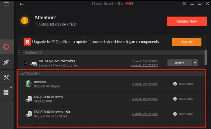 free update drivers in windows 10