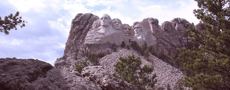 USA ROLLER DERBY ROAD TRIP – DAY 10: Mount Rushmore