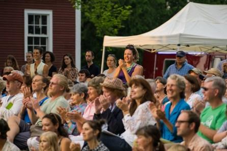 An appreciative Farm to Ballet audience