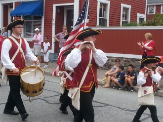 Fourth of July parade in Stonington, CT