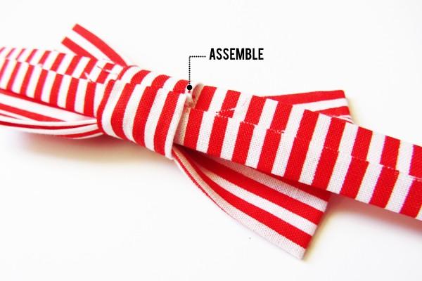 diy valentine bow tie dog collar // stuff steph does