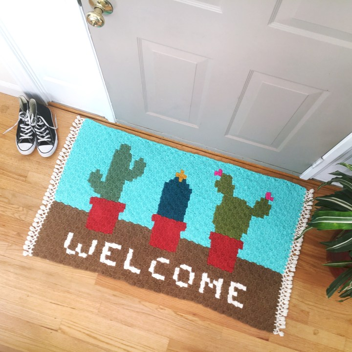 Cactus Welcome Rug