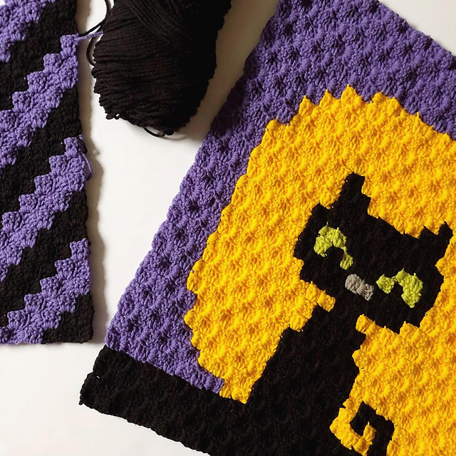 Meowlloween Cushion