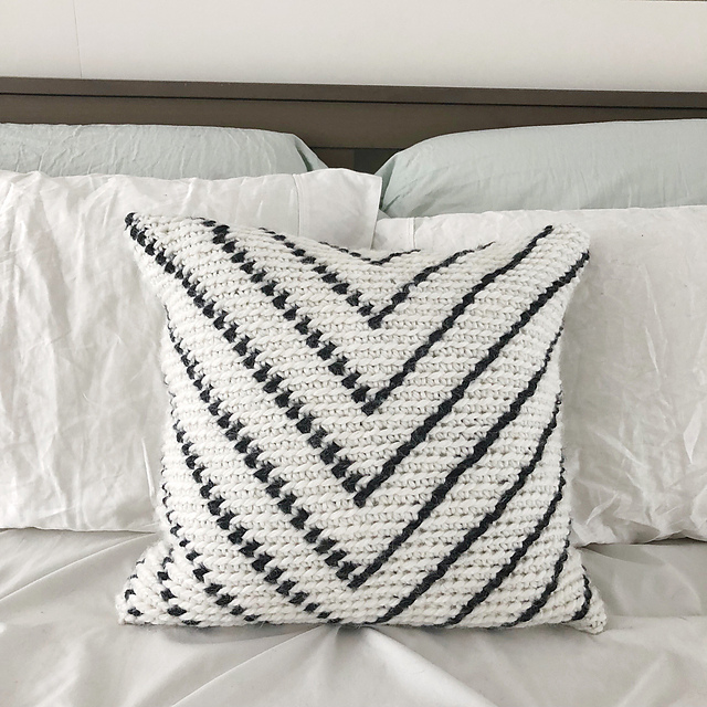 Simple Chevron Pillow