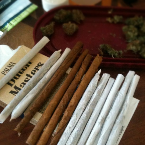 blunts and joints