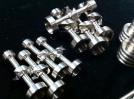 Titanium Nails from Highly Educated Ti