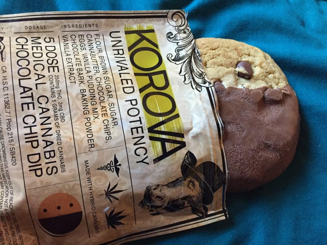 Korova Chocolate Dipped Chocolate Chip Cookie