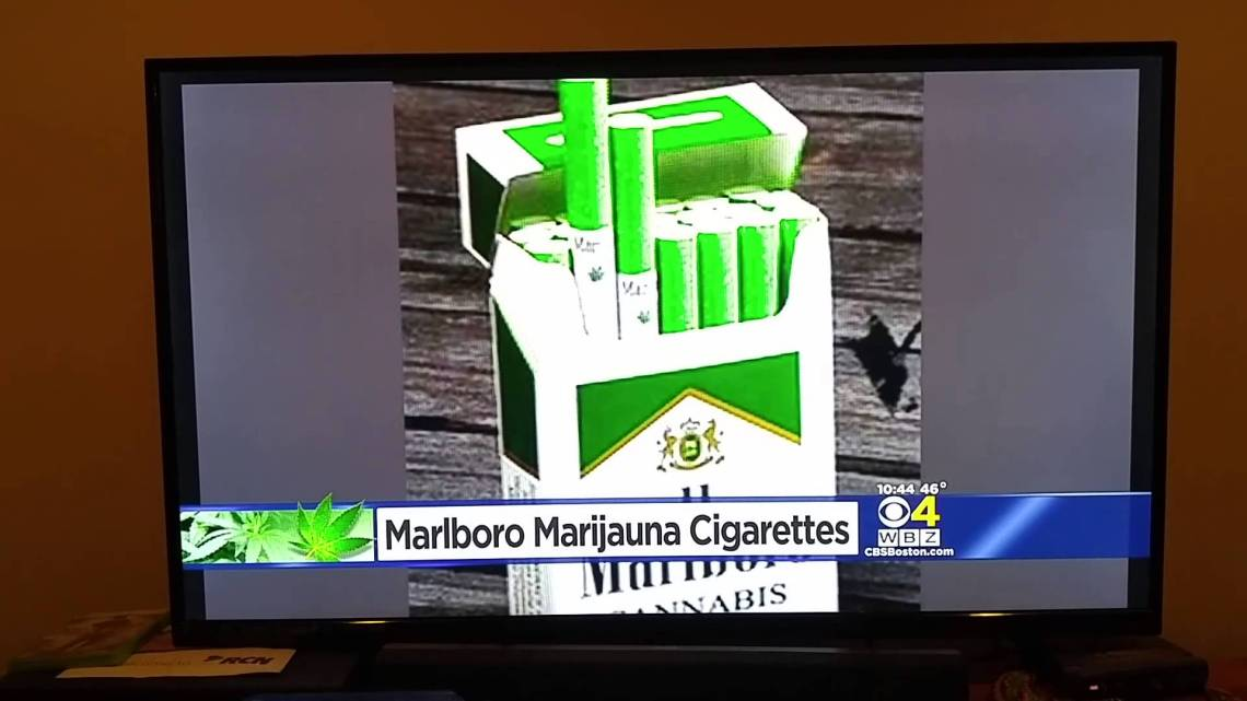marijuana cigarette aka marlboro cannabis