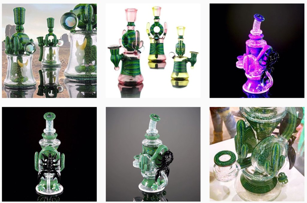heady glass by darby-holm