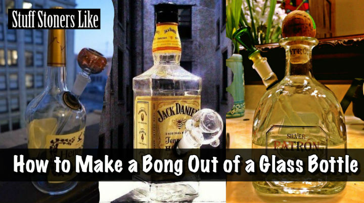 How to Make a Bong Out of a Glass Bottle Step 1