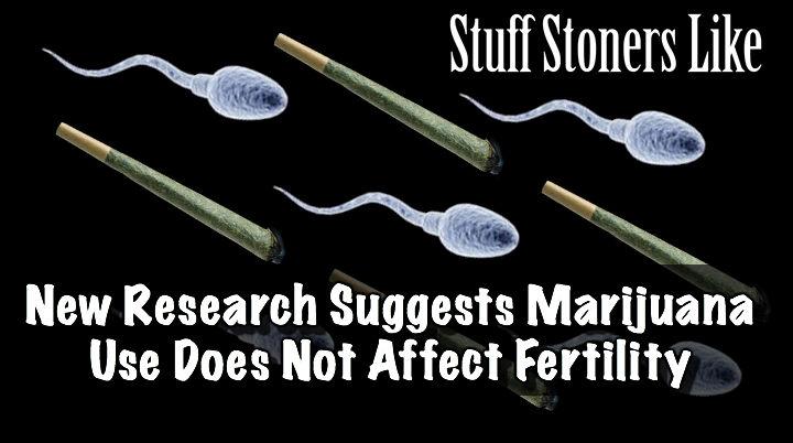 Marijuana Use Does Not Affect Fertility