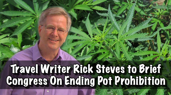 Travel Writer Rick Steves to Brief Congress On Ending Pot Prohibition