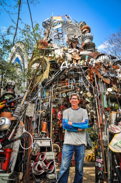 Cathedral of Junk - Austin TX-2