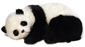Sweet Dreams, Panda Cub Plush Animal