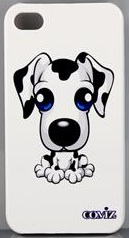 Dog Dalmatian iphone 4 case
