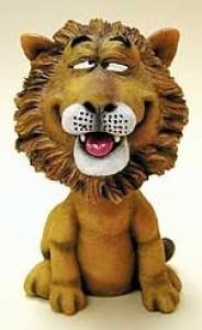 Lion Bobble Head