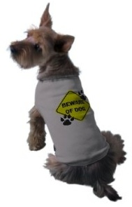 Beware of dog dog jacket