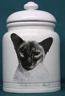 siamese cat cookie jar