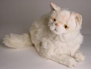 Persian Stuffed Plush Cat