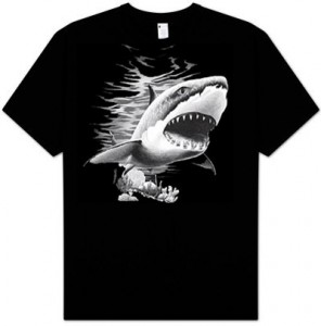 Great White Shark T-Shirt Shark Week