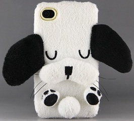 Cute Plus dog iPhone case
