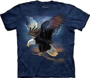 The mountain Bald Eagle t-shirt