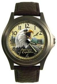 Seiko bald eagle watch