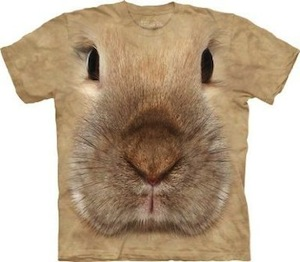 Rabbit face t-shirt