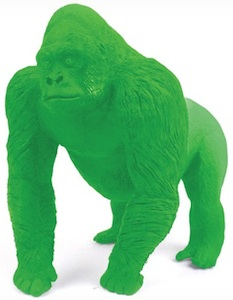Gorilla eraser for back to school