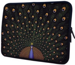 Peacock Notebook Laptop Sleeve