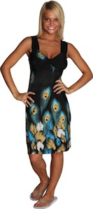 Peacock Feather Dress