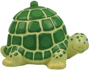 Turtle Cookie Jar