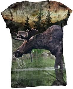 Lake Moose t-shirt