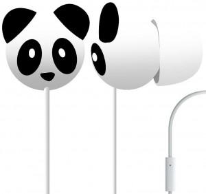 Panda Headphone Earbuds