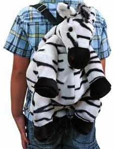 Zebra Shape Backpack