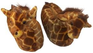 Giraffe Kids Animal Slippers