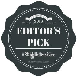 2016 Stuff Writers Like Writing Contest Editor's Pick Paul D. Bryant