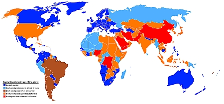 Death Penalty World Map