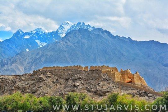 Stone Fortress, Tashkorgan, enroute to the Khunjerab Pass on the Silk Road.