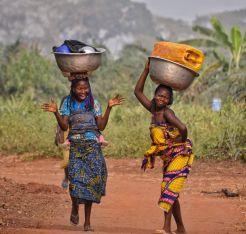 Ladies near Allada, Benin