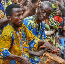Drummers - Allada Voodoo Festival, Benin