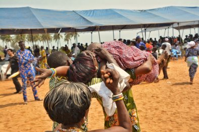 Fete du Vodoun, Ouidah beach, Benin