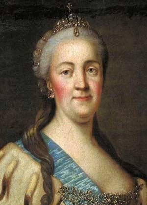 Екатерина 2 Фото В Молодости