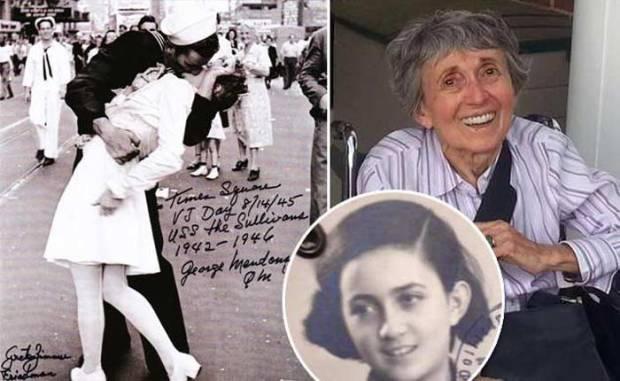 Грета Циммер Фридман незадолго до смерти