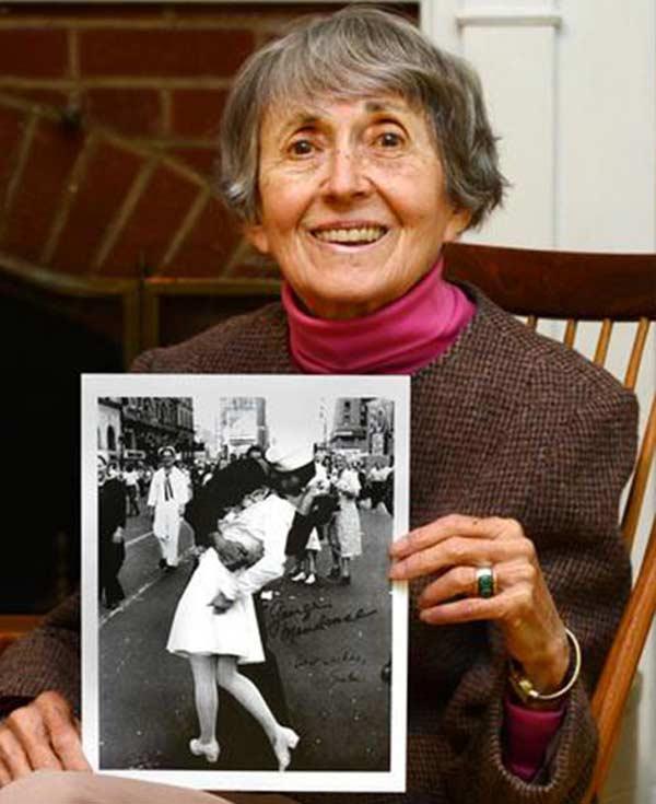 Грета Циммер Фридман незадолго до смерти 2