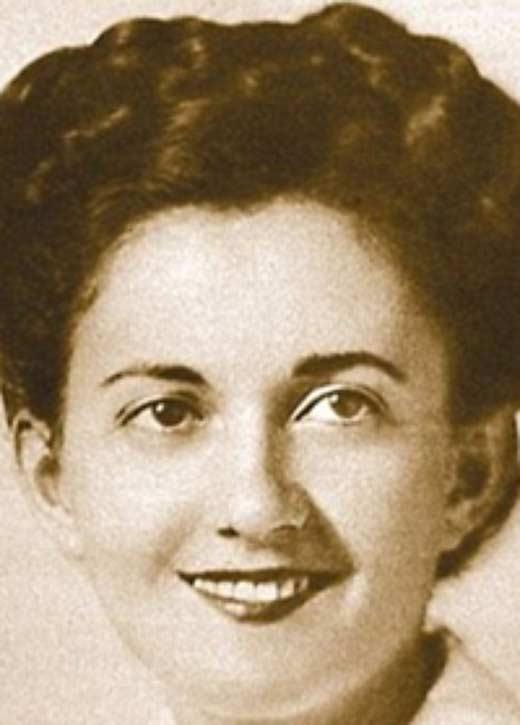Грета Циммер Фридман в 1945 году
