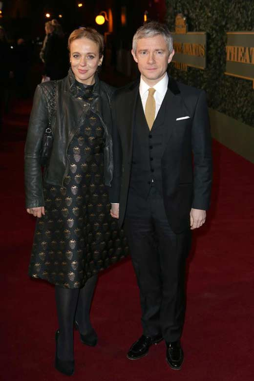 Martin Freimen and Amanda Abbington 2