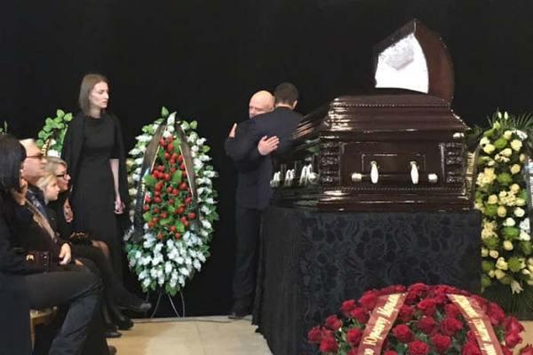 Похороны Дмитрия Марьянова. ФОТО. ВИДЕО