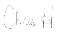Chris H Signiture